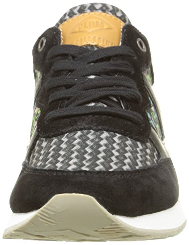 PLDM by Palladium Segundo Print W, Baskets Basses Femme Noir (C48 Black/Flower Multi)