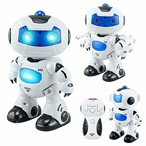 QUINTRA RC Musik & Licht Fernbedienung Roboter Spielzeug Intelligente Walking Space Roboter - Walking-spielzeug-roboter