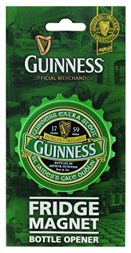 McLaughlin's Irish Shop Guinness Flaschenöffner und Magnet (Guinness Flaschenöffner Magnet)