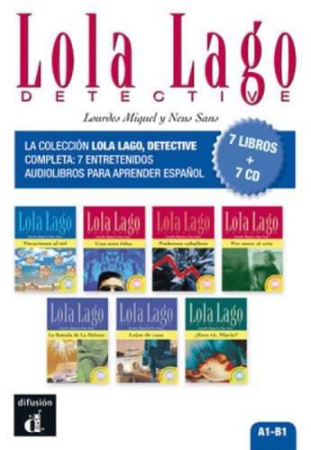 Lola Lago Detective (7 Libros + 7 Cd) (Ele- Lecturas Gradu.Jovenes)