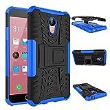 Für Meizu M2 Note (5.5 Zoll) Hülle ZeWoo® Heavy Duty Case Cover Outdoor Sport Tasche Shockproof Schutzhülle Gürtel-Clip Ständer - HH008 / Blau