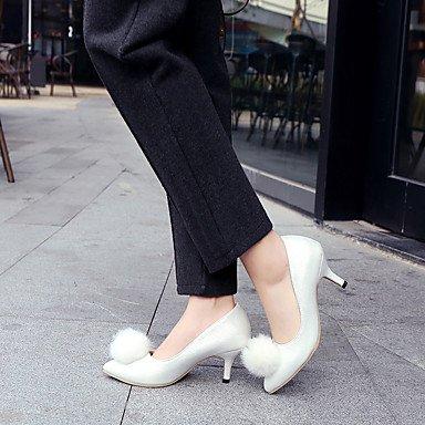 Talloni delle donne Primavera Estate Altro similpelle Abito a spillo tacco Altri Nero Blu Rosa Rosso Bianco White