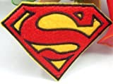 Superman 'S' Iron on Sew on Embroidered Patch Badge for sale  Delivered anywhere in Ireland