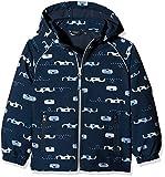 NAME IT Jungen Jacke NITALFA Softshell Jacket CAR MZ FO, Mehrfarbig (Vintage Indigo), 110
