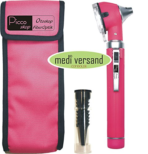 Veterinary Kompakt-Stift Ohrleuchte - pink