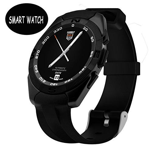 Sport Smartwatch Android - Bluetooth Smart Watch Wristwatch , Fitness Armband Golf / Fitness Tracker Elegiant Sport Smartwatch Smart Armband Bluetooth Sitzende Erinnerung & Wasserdicht und staubdicht - [ Gold ]