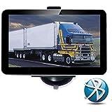 """NavLine GPS Navegador  7"""" con Bluetooth (16GB, Actualización Gratis de Mapa Europeo, 800*480 Pixeles)"""