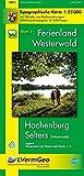 Ferienland Westerwald, Blatt 1. Hachenburg/Selters (Westerwald) (WR): Topographische Karte 1:25000 mit Wander- und Radwanderwegen (Freizeitkarten Rheinland-Pfalz 1:15000 /1:25000) - Landesamt für Vermessung und Geobasisinformation Rheinland-Pfalz