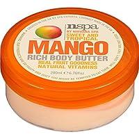 nspa extractos de fruta Rico cuerpo mantequilla de mango 200 ml