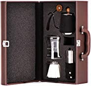 Coffee Maker Set Include Cup Kettle Filter Paper Coffee Grinder Kit