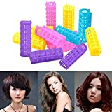inkint DIY Plastic Hair Curling Rollers ...