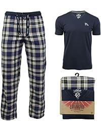 Ensemble pyjama pantalon à carreaux et haut à manches courtes par Tokyo Laundry