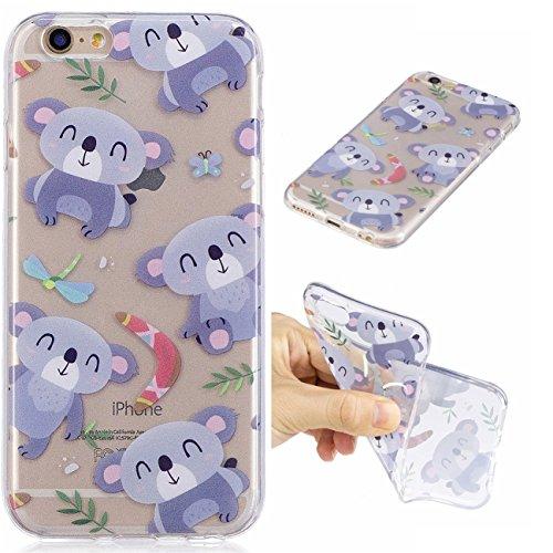 iPhone 6/6S 4.7 Hülle, Voguecase Silikon Schutzhülle / Case / Cover / Hülle / TPU Gel Skin für Apple iPhone 6/6S 4.7(Ice Cream 05) + Gratis Universal Eingabestift Koala
