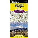 Ecuador und Galapagos: NATIONAL GEOGRAPHIC Adventure Maps