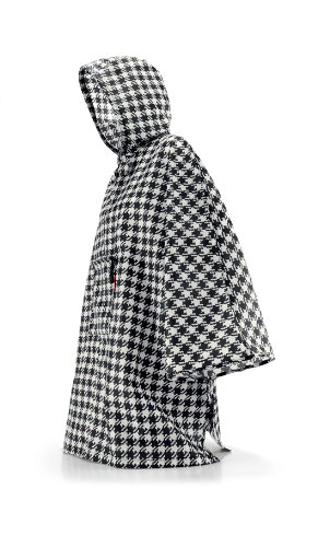 reisenthel mini maxi poncho  141 x 93 x 0 cm fifties black -