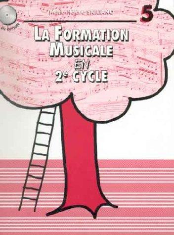Partition : La Formation musicale en 2ème Cycle - Cycle - Volume 5