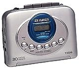 Aiwa HS-TX516 tragbarer Kassettenspieler mit Radio silber