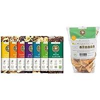 eat VEGAN SNACK BOX (330g) von eat Performance (Paleo, Bio, Geschenk-Set, glutenfrei, laktosefrei, superfood)