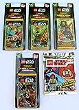 Blue Ocean Lego Star Wars Trading Cards Serie 1 - Set 4 Blister + Minifigur Obi-Wan Kenobi Limited Edition