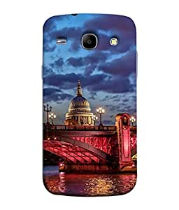 PrintVisa Designer Back Case Cover for Samsung Galaxy Core i8262 (dashing look of old monument)