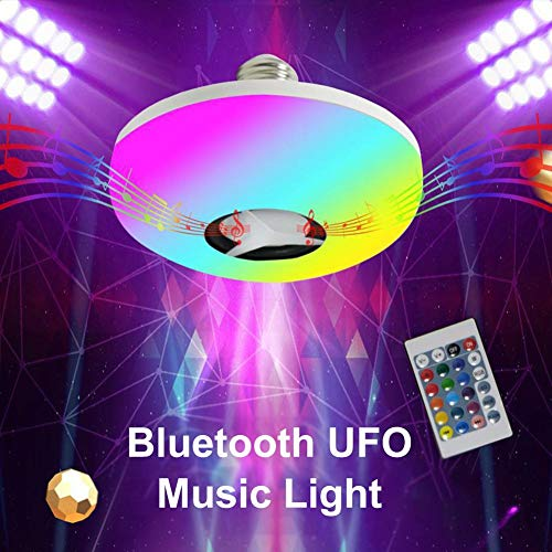 f0b1c1b93a Beimaji Trade Smart Light Bulb Colorful LED Bluetooth Lampe 360 ° Surround  Sound Musique
