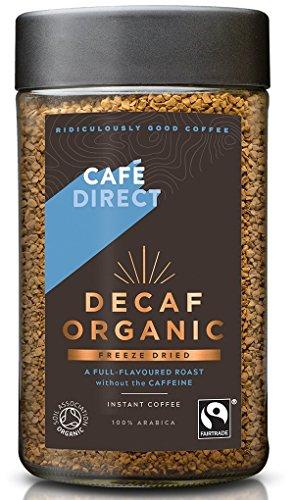 Cafédirect Fairtrade Bio- Instant-Kaffee Entkoffeiniert (100 G)