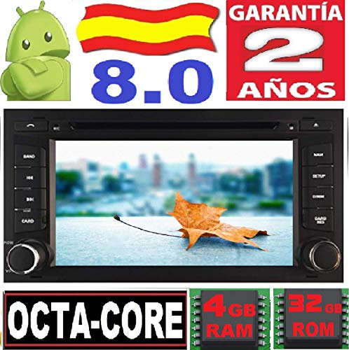 Seat Leon/Ibiza / Android 8.0, Octa Core, 4GB RAM, 32 GB ROM/GPS...