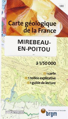 Carte géologique : Mirebeau-en-Poitou par Cartes BRGM