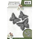 Find It Stanz- & Prägeschablone Butterflies 3 Stück Papier stanzen prägen 3D Schmetterlinge