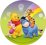 Aufleger Ø 21 cm - Winnie Pooh Nr.3 - Oblate / Wafer