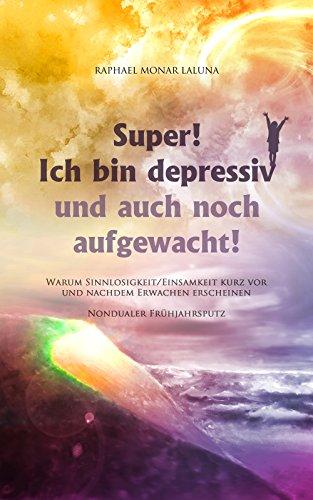 Super! Ich bin depressiv und auch noch aufgewacht!: Warum Sinnlosigkeit/Einsamkeit kurz vor und nachdem Erwachen erscheinen. (Nondualer Frühjahrsputz)