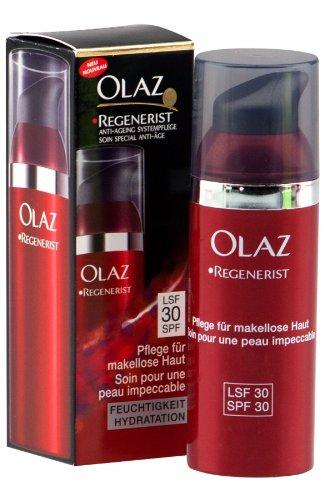 Olaz Regenerist Anti Ageing Systempflege LSF 30 Feuchtigkeitscreme 50ml (AB2)