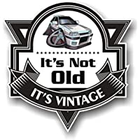 Koolart Dibujo ITS Not Old ITS Clásico Eslogan para Retro Mk2 Opel Opel Astra