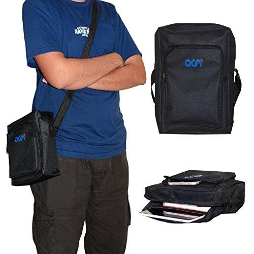 ACM Classic Soft Padded Shoulder Sling Bag for Lenovo Yoga Tab 3 8″ Carrying Case Black