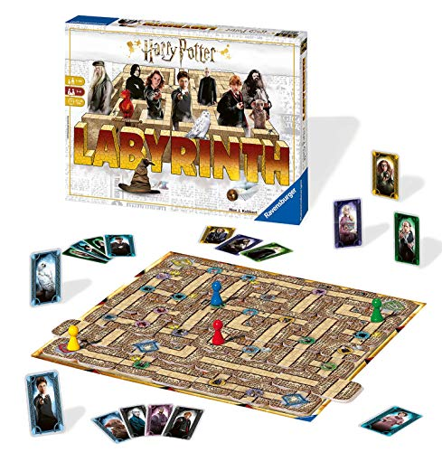 Ravensburger 26031 - Harry Potter Labyrinth, Familienspiel
