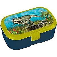 Lunchbox * Dinosaurier Plus Wunschname * für Kinder von Lutz Mauder | Brotdose mit Namensdruck | Perfekt für Jungen | Vesperdose Brotzeitbox Brotzeit Schule Kindergarten Dino T-Rex preisvergleich bei kinderzimmerdekopreise.eu