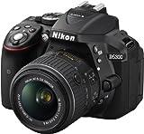 Nikon D5300 SLR-Digitalkamera (24,2 Megapixel, 8,1cm (3,2 Zoll) LCD-Display, Full HD, HDMI, WiFi, GPS, AF-System mit 39 Messfeldern) Kit inkl. AF-S DX 18-55 VR II Objektiv schwarz - 9