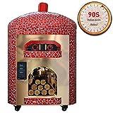 ZLI Gull Style Dome Forno Elettrico per Pizza Forno per Pizza Forno per Pizza Forno Elettrico per Pizza con 12 Tubi di Riscaldamento per Esterni,B