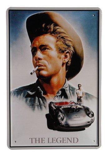 Blechschild James Dean Film