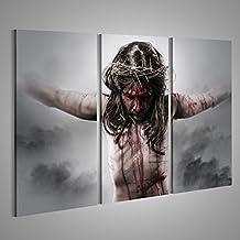 tableau déco jesus