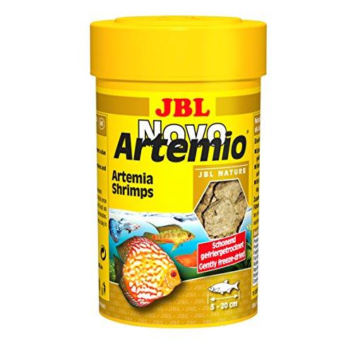 JBL complemento mangime per Tutti i Pesci acquari, gefriergetr ocknete Arte Mia di gamberi, novoartemio