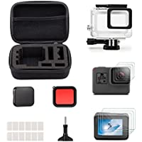 iTrunk 23 in 1 GoPro Hero Accessory Kit with Shockproof Small Case Bundle for GoPro Hero 2018 Hero 6 Hero 5 Action Camera