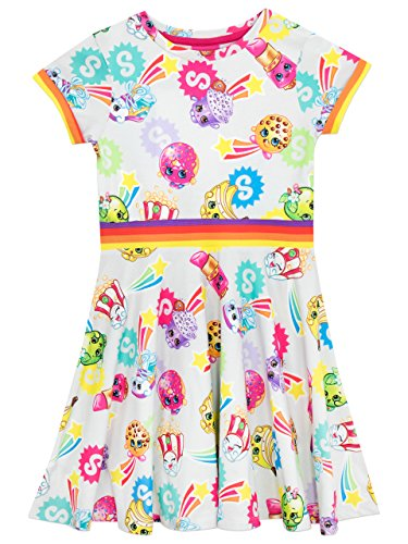 Shopkins Girls Dress Ages 5 to 13 Years