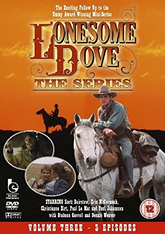 Lonesome Dove 3- Long Shot, Last Stand, Ballad Of A Gunfighter [DVD] by Robert Duvall