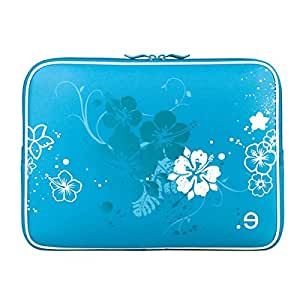"""Be.ez 101000 Housse LA robe Moorea pour MacBook Air et UltraBooks 13"""" Bleu"""