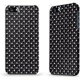 """Hülle / Case / Cover für iPhone 5 und 5s - """"Quadrate"""""""