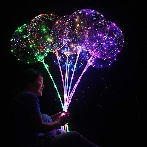 DAKERTA LED Leuchten Party Ballon Craze - Einzigartige Party Balloons - Perfekte Party Dekoration