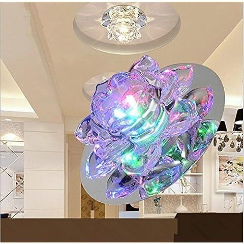 ZLL/ Soffitto illuminazione Lanterna/salotto/sala/cristallo giorno luci/led downlight , color light