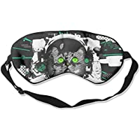 Comfortable Sleep Eyes Masks Space Cat Pattern Sleeping Mask For Travelling, Night Noon Nap, Mediation Or Yoga preisvergleich bei billige-tabletten.eu