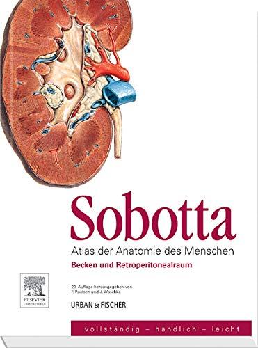 Sobotta, Atlas der Anatomie des Menschen  Heft 6: Becken und Retroperitonealraum